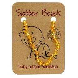 Slobber beads 儿童琥珀项链round honey色 35-36cm – Guangdong Health & Beauty