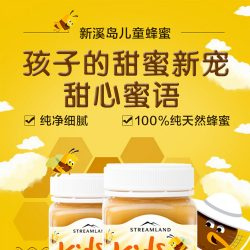 Streamland 儿童蜂蜜 500g – Guangxi Healthy 保健,美妆和个人护理商品