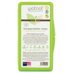 Wotnot All Natural Travel Wipes 20 Pack with Hard Case Online Only – World Health and Beau ...