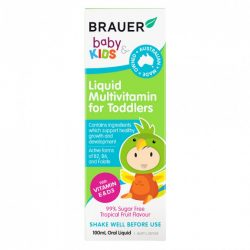 Buy Baby & Kids Liquid Multivitamin for Toddlers 100 mL by Brauer