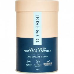 Buy Chocolate Protein Collagen Powder 420 g by Dose & Co.