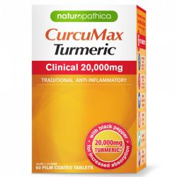 Buy CurcuMax Turmeric Clinical 20,000mg 60 Tablets by Naturopathica