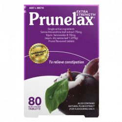 Buy Extra Strength 80 Tablets by Prunelax