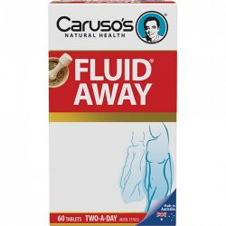 Buy Fluid Away 60 Tablets by Caruso's Natural Health