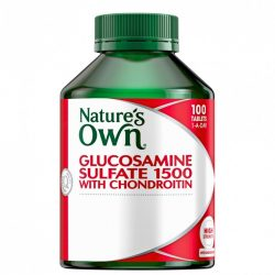 Buy Glucosamine Sulfate 1500 with Chondroitin 100 Tablets by Nature's Own