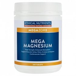 Buy Mega Magnesium 240 Tablets by Ethical Nutrients