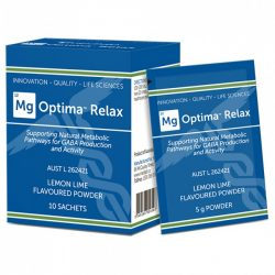 Buy Mg Optima Relax™ Lemon & Lime 5g Sachets 10 Pack by Medlab