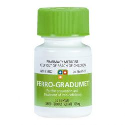 Ferro-Gradumet 325mg – 30 Tablets | DDS