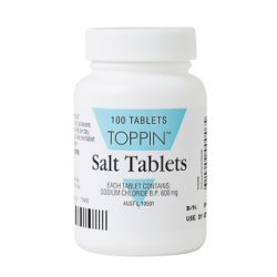 Toppin Salt – 100 Tablets | DDS